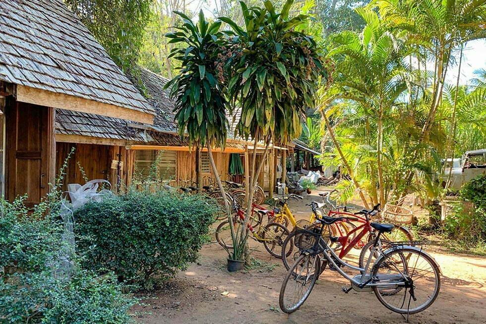Rabeang Treehouse Resort fietsen