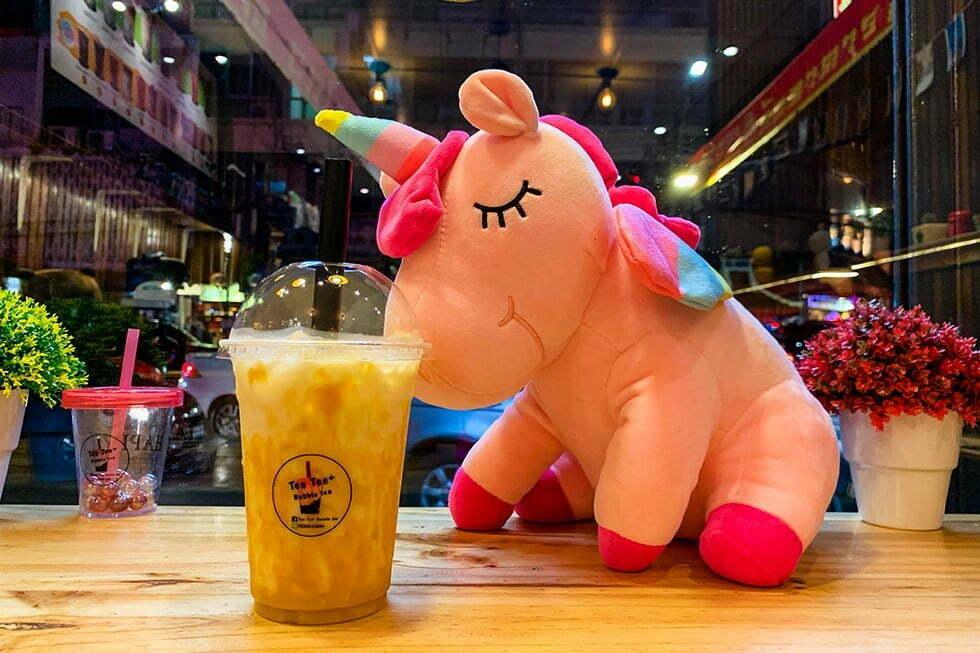 Bubble Tea - Streetfood in Chinatown, Bangkok