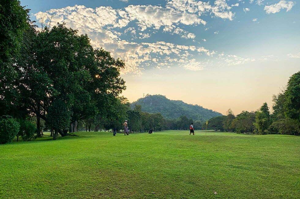 Golfbaan in Hua Hin
