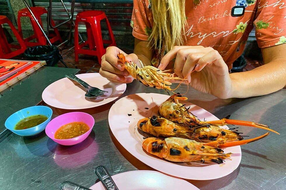 Lek Rut Seafood - Streetfood in Chinatown, Bangkok