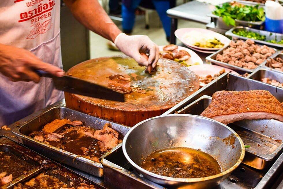 Nai Ek Roll Noodle - Streetfood in Chinatown, Bangkok