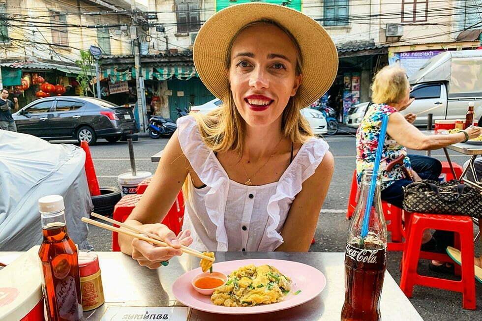 Nai Mong Hoi Tho - Streetfood in Chinatown, Bangkok