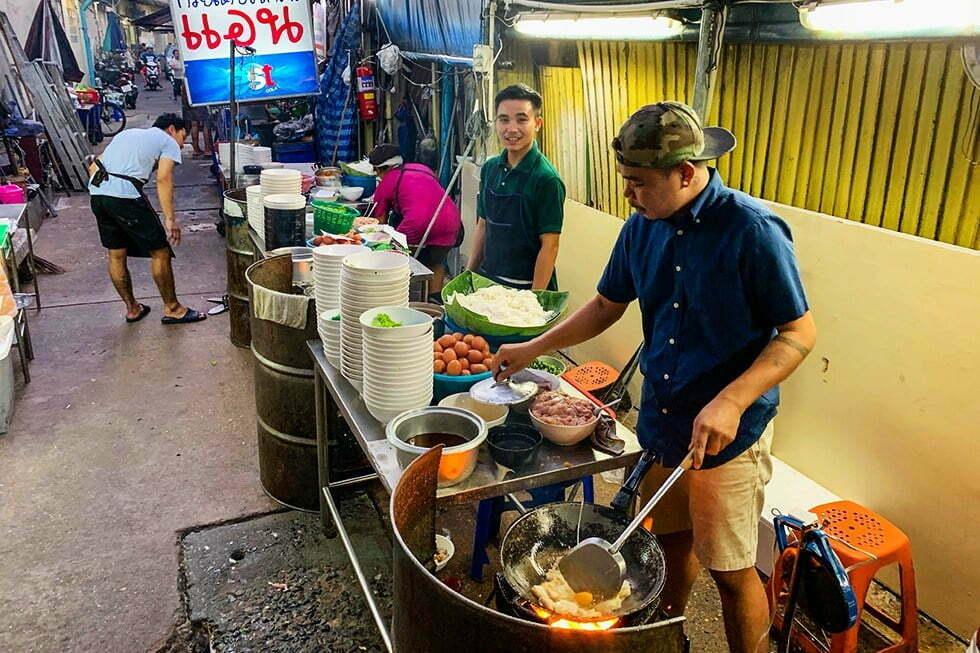 Nay Hong - Streetfood in Chinatown, Bangkok