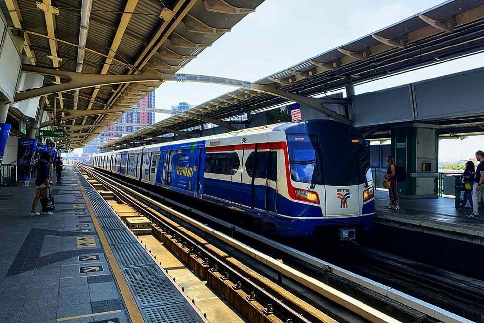 BTS Skytrain Bangkok