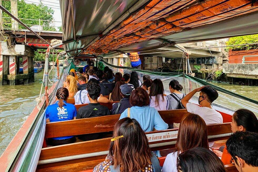 Canal Boat Bangkok