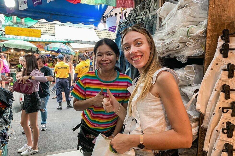 Chatcuchak Weekend Market Bangkok