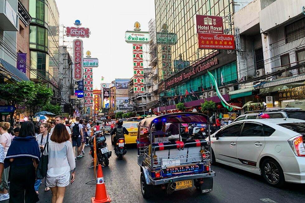 Vervoer Bangkok