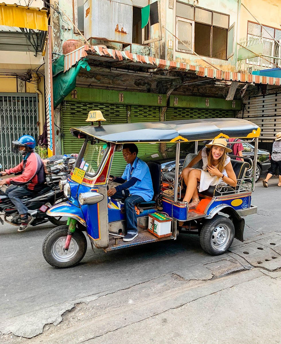 tuktuk vervoer bangkok