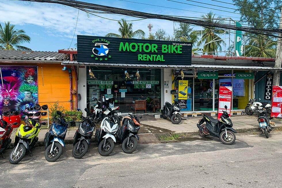Motorbike Khao Lak