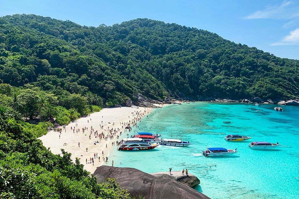 Similan-eilanden Thailand