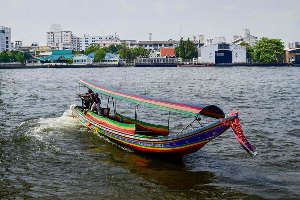 Boottocht door grachten Bangkok