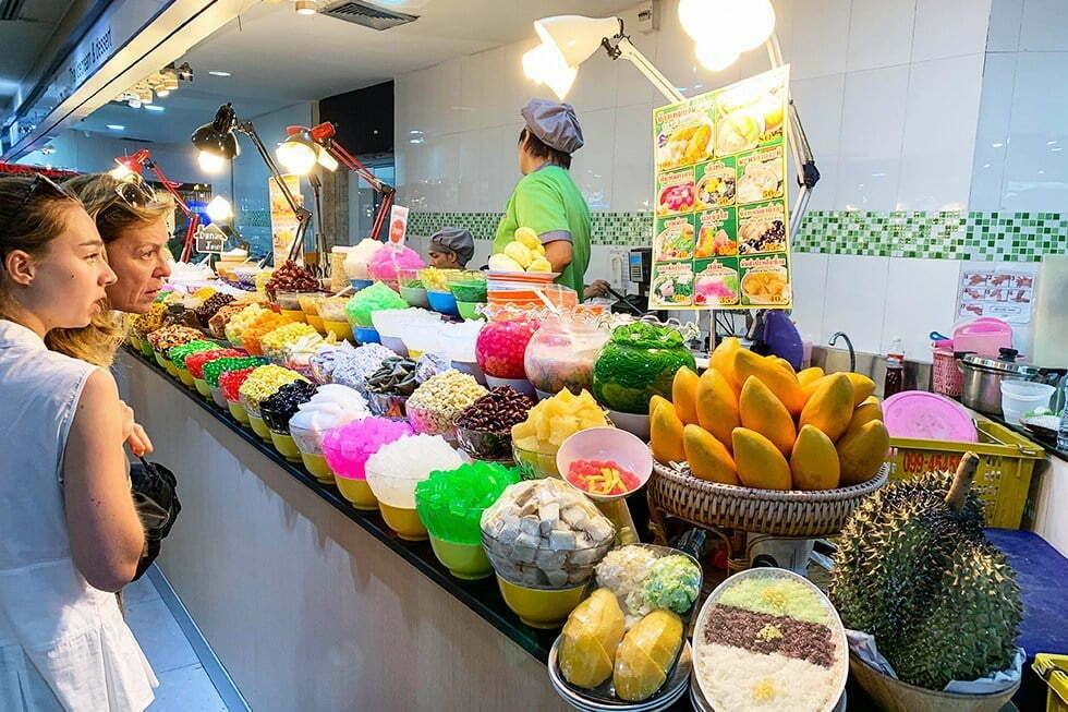 Eten in MBK Center Bangkok