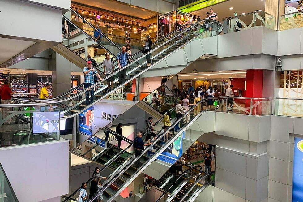 Winkelcentrum MBK Bangkok
