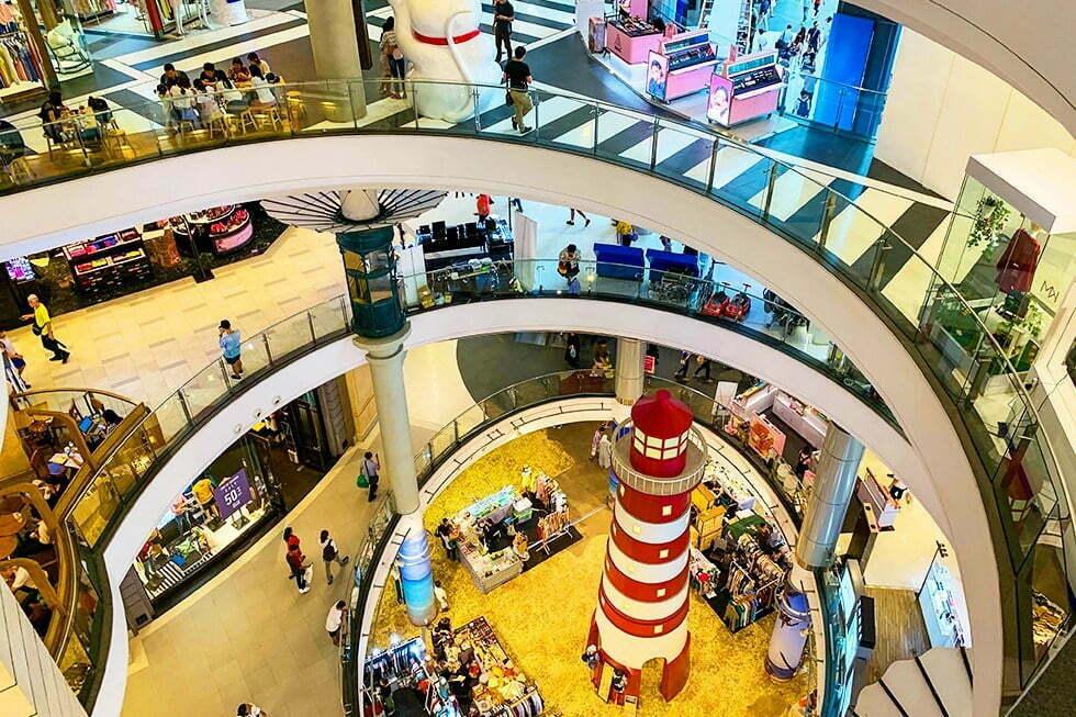 Winkelcentrum Terminal 21 Bangkok