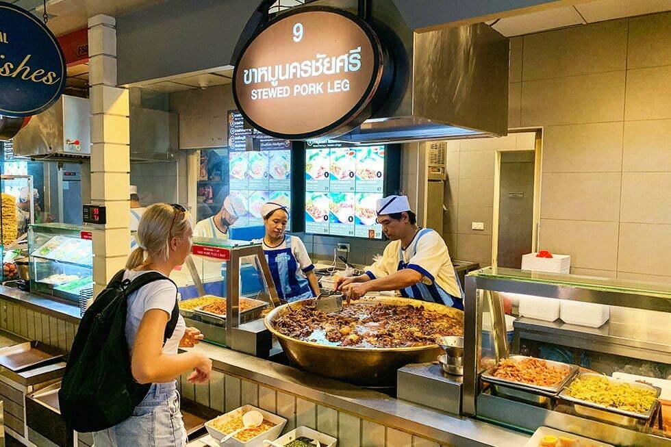 Food court Terminal 21