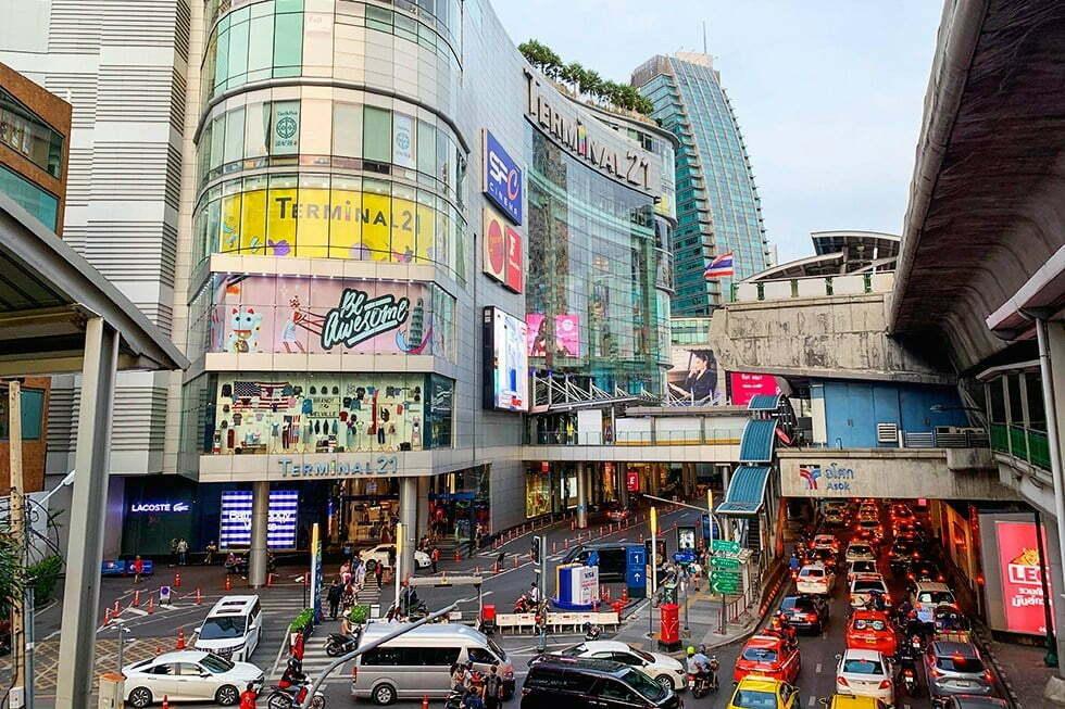 Winkelen Bangkok Terminal 21