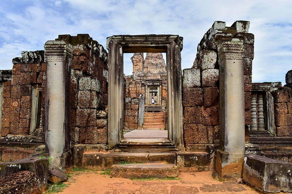 East Mebon bij Ankor Wat, Cambodja