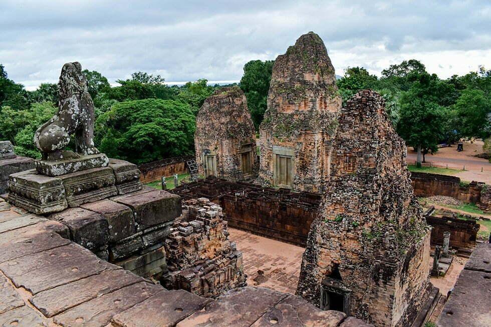 Pre Rup bij Ankor Wat, Cambodja