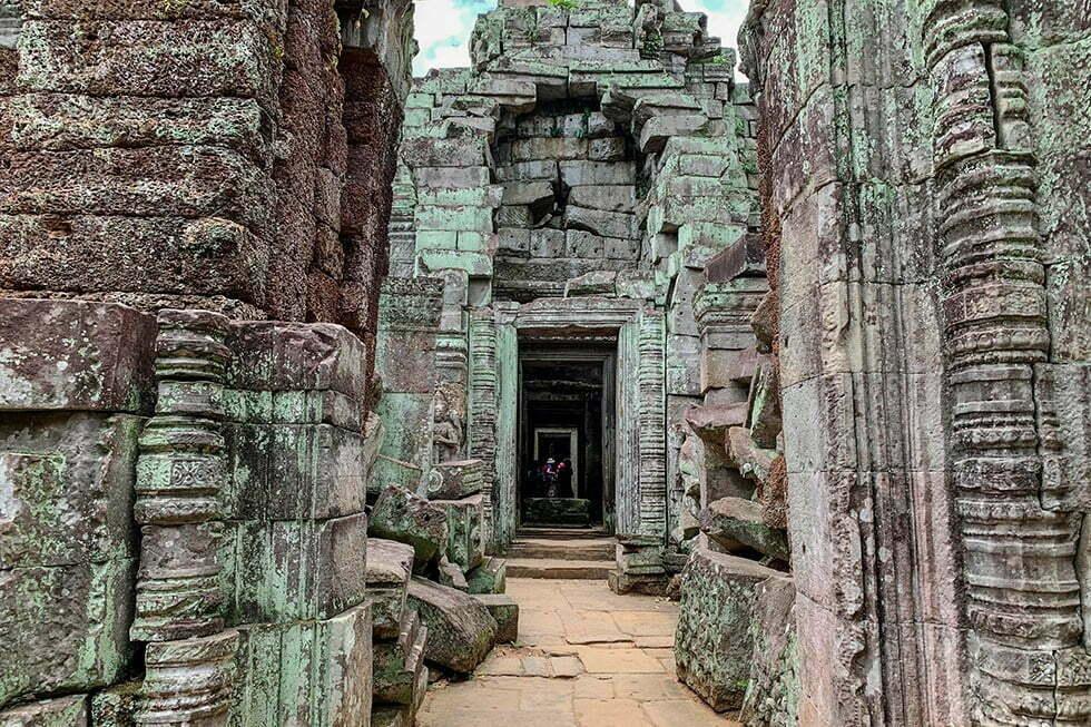 Preah Khan bij Ankor Wat, Cambodja