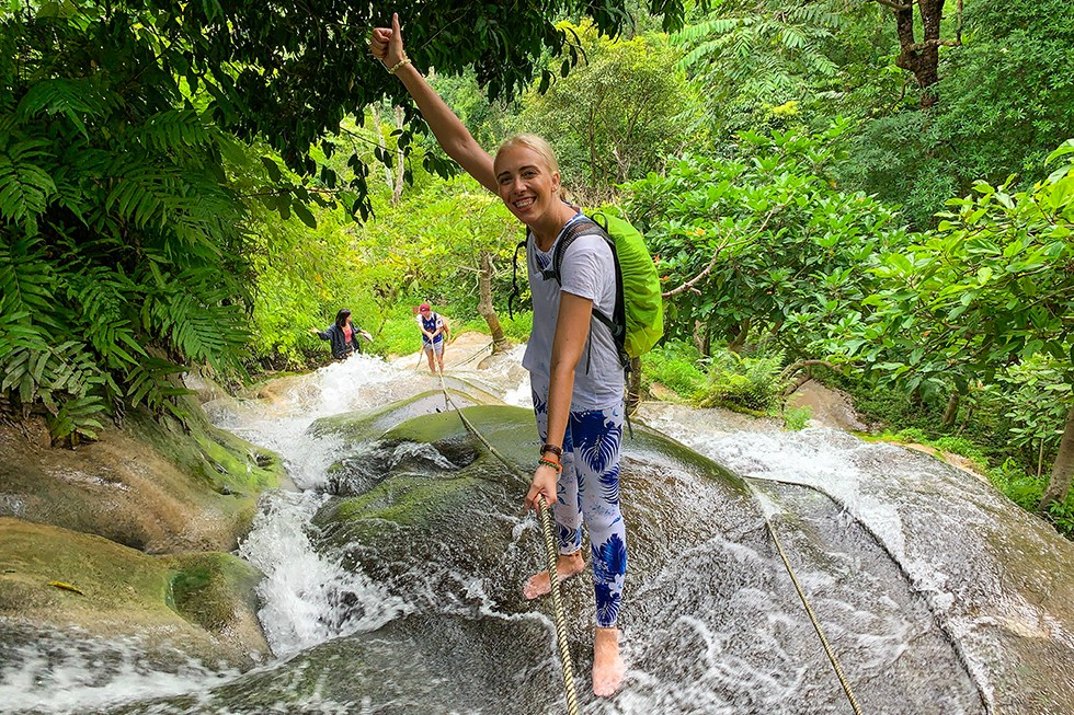 Sticky Waterfall Tour Chiang Mai
