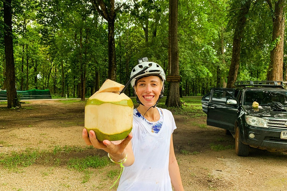 Mountainbiken drinken Chiang Mai