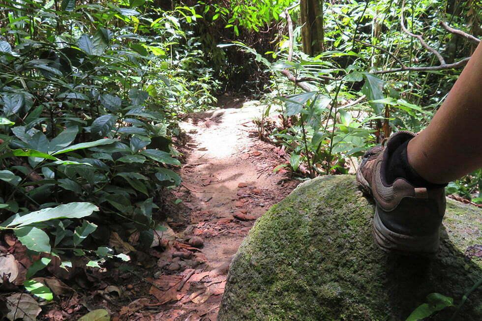 Hike naar Hin Lat Waterval