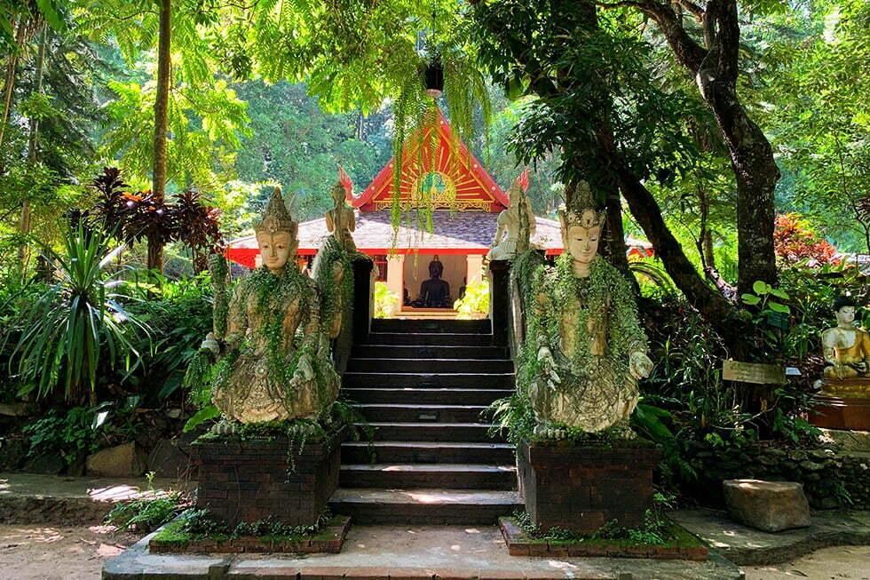 Wat Pha Lat Chiang Mai trap