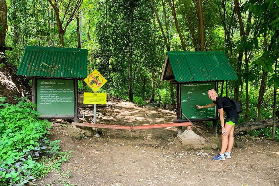 Wat Pha Lat Chiang Mai Startpunt Wandeling