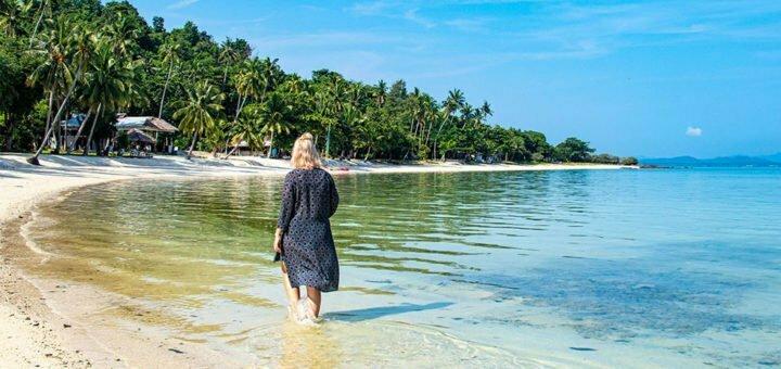 Strand van Koh Talu