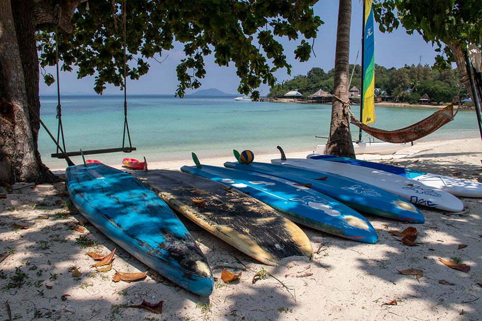 Koh Talu Island Paddleboards