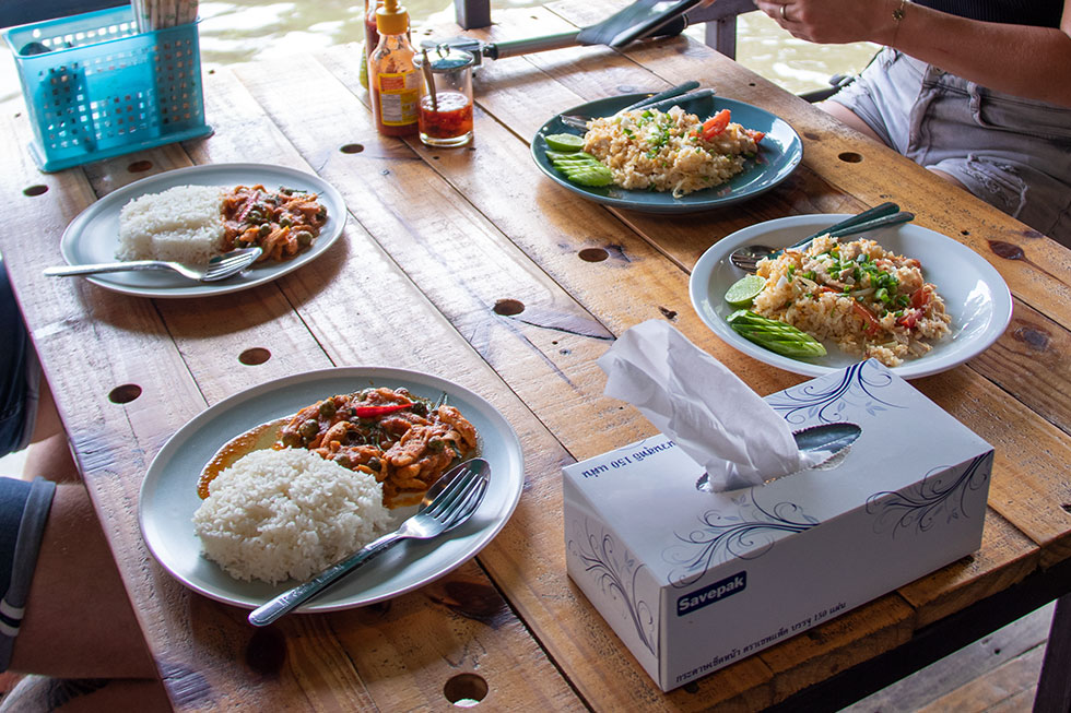 Lunch bij The Artist's House in Bangkok