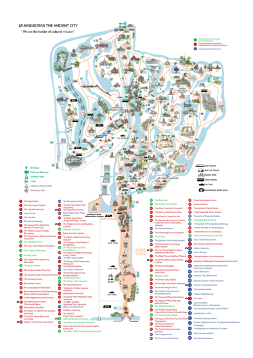 Plattegrond The Ancient City