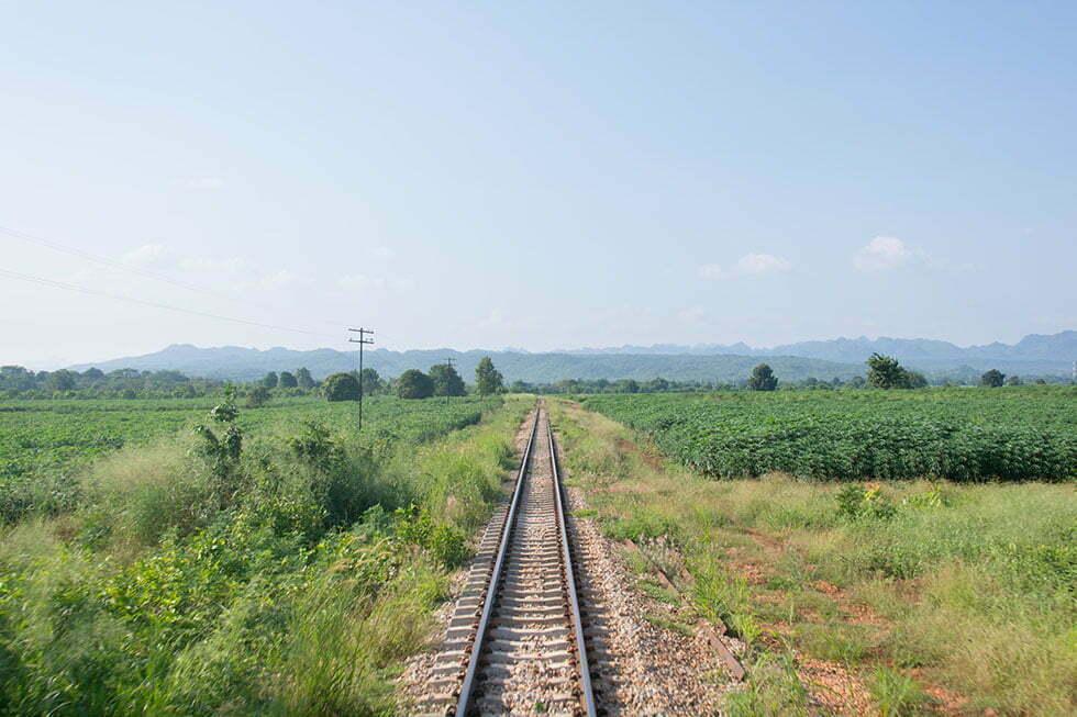 Thais landschap